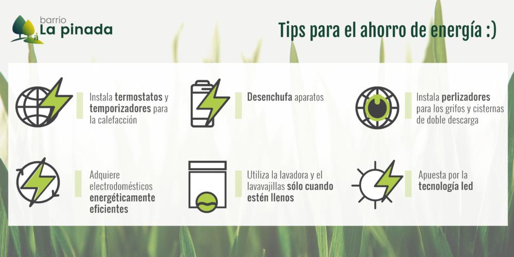 17 Consejos Para Ahorrar Energía En Tu Vida Diaria Barrio La Pinada